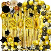 2021 Gold Balloons Arch Set For Graduation Decorations New Years Eve Party Andamp