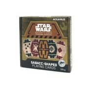 Star Wars Sabacc Shaped Playing Cards New Galaxy's Edge Exclusive Deck Of Disney