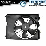 Engine Radiator Cooling Fan Assembly Direct Fit For Acura Rdx Brand New