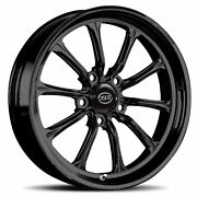 Rc Components Exile-s Solid Gloss Black 15 X 3.5 5 X 4.50 1.75 Back Space
