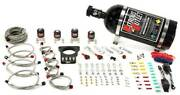 Nitrous Outlet 78mm Dual Stage Lsx Plate System 50-200hp 10lb Bottle For 9