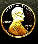 1978 S Lincoln Memorial Penny, Unc. Proof Coin, Finish Your Coin Book, 0014