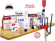 Lee Classic Turret Press Auto Index Free Lee Mount Plate Reloading Set In Stock