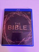 The Bible The Epic Miniseries Blu-ray Disc 2013 4-disc Set Roma Downey