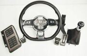 Vw Golf Gti / Jetta Mk6 Steering Wheel, Gearshift Lever And Pedals Set