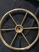 Used Atwood Stainless Steel Boat Steering Wheel No Center 15andrdquo