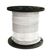 Stranded Thhn Wire Cu Simpull Single Conductor Electrical Pre Cut 8 White 1000ft