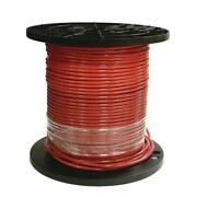 Stranded Thhn Wire Cu Simpull Non Grounded Indoor Outdoor 8 Gauge Red 1000 Ft.