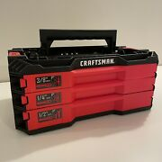 Craftsman 3 Drawer Versastack Tool Case. Brand New. Empty Tools Not Included