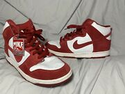 Nike Dunk High Sb St. Johnandrsquos 20th Anniversary Suede Menandrsquos Size 11.5