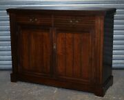 Antique Mahogany Cupboard/sideboard With Brass Handles