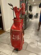 1983 Houston Cocacola Open Bag And Clubs Belonging To Charlie Sifford Make Offer