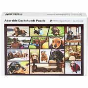 Adorable Dachshunds Jigsaw Puzzle - Gifts Dog Lovers Family 500 Piece Toys Andamp