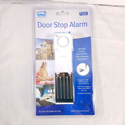2 Set Of Two Sabre Wedge Door Stop Security Alarm With 120 Db Siren New Sealed