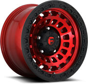 Alloy Wheels 18 Fuel Zephyr Truck D632 Red For Hummer H3x 07-10