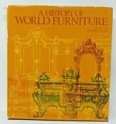 A History Of World Furniture By Luis Feduchi - Hardcover - Dj Shows Some Wear