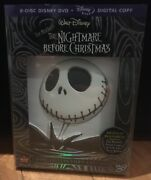Disney Nightmare Before Christmas Collector's Edition Dvd And Digital New Unopened