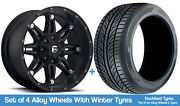 Fuel Winter Alloy Wheels And Snow Tyres 20 For Ford Ranger [mk5] Arch Kit 16-20