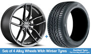 Niche Winter Alloy Wheels And Snow Tyres 19 For Mercedes E-class [w212] 09-16