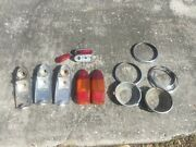 Mg Midget Sprite Mgb Original Lamps Tail Head And Front Sidelamps 1968 On