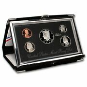 1998 S Silver Us Premier Proof Set In Us Mint Box And Coa