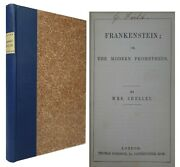 Frankenstein Or The Modern Prometheus By Mary Shelley 1856 Sixth Edition