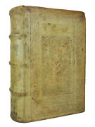 The Comedies Of Aristophanes | 1586 | Blind Stamped Pigskin Renaissance Binding