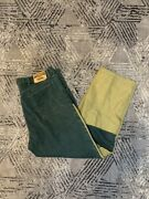 Vintage Wrangler Jeans Patchwork Color Block Made In The Usa Rugged Wear 38x32