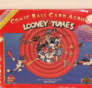 1991 Comic Ball Looney Tunes Series Trading Cards Album - Set Of Two