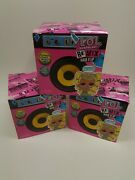 3- Pack Lol Surprise Remix Hair Flip Dolls Brand New And Sealed W/15 Surprises