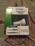 Leapfrog Car Adapter Leappad Leappad2 Leapstergs Explorer Charger Cable 6ft Cord