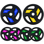 2 Hole Oplympic Weight Plates Bumper Plates Olympic Weight Plates Steel Insert