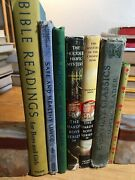Lot Of 7 Vintage And Antique Illustrated Childrens Books 1918-1967 Hc With Wear
