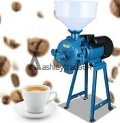 New Electric Feed Mill Wet Dry Cereals Grinder Corn Grain Rice Coffee Wheat 220v