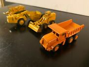 Vintage Lot Of 4 Litl Toy Mercury Trucks Tractors Made In Usa 1969