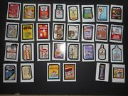 2018 Topps Wacky Packages Old School 7th Series 7 Complete Ludlow Set 30/30 Nm