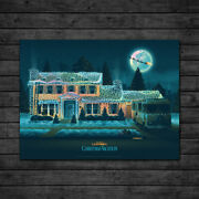 National Lampoon Christmas Vacation Foil Variant Dkng Ae Ap Print Poster Bng /50