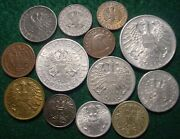 Austrian Empire/rep.eagle Collection 1878-1957 All Different Type Coins-genuine