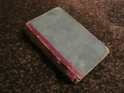 Antique 1822 World Described In Early Verse Book W.r. Lynch 3.5 X 5.75 X 3/4