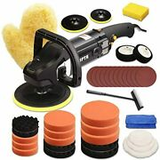 7in Automotive Buffer For Car Vehicle Polisher Detail Work 7inch Round Machine A