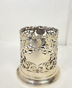 Pearce And Sons Antique Sterling Silver Wine Bottle Holder