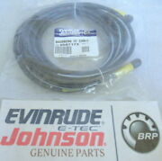 P19b Johnson Evinrude Omc 0587173 Backbone 15and039 Cable Oem New Factory Boat Parts