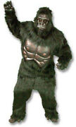 Gorilla Mascot Costume Halloween Christmas Carnival Dress Full Body Props Outfit