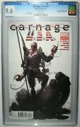 Carnage U.s.a. Usa 3 Cgc 9.6 Print Error Double Interior Guts White Pages 2012
