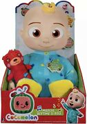 Cocomelon Musical Bedtime Jj Doll Plush Tummy And Roto Head + Teddy Ships Free