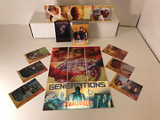 Smallville Season 3 Base Card Set + Chase Card Sets G1-g9, D1-d6, Bl1-bl3 And Cl1