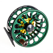 New Bauer Rx-3 Green/ Black Fly Fishing Reel For 5-7 Weight Rod+ Free 100 Line