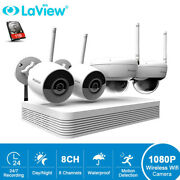Laview 8 Channel 5mp H.265 Nvr 4x 1080p Hd Wifi Camera System Kit With 1tb Hdd