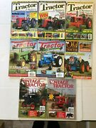 Tractor Magazines Lot Of 8 Old Tractor Vintage Tractor 2007-2010