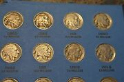 Buffalo Nickel Collection 1913-38 10 Keys 44 Total Coins